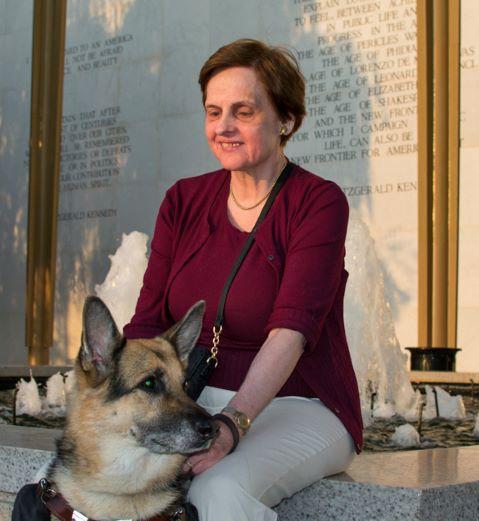 Denise Decker with Wonder